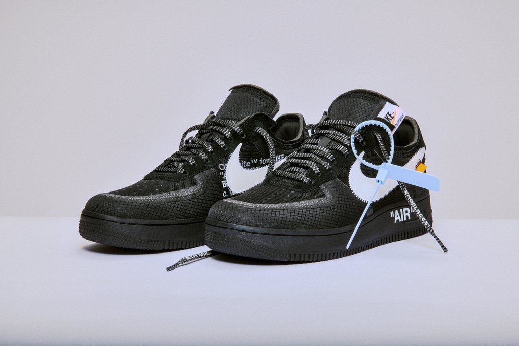 【Off-White×NIKE】コラボスニーカー The ten Air Force 1 low  国内発売12/19