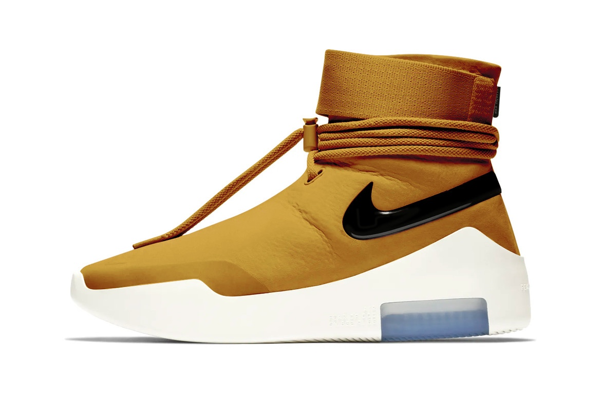 "【FEAR OF GOD】 NIKE × FEAR OF GOD AIR FEAR OF GOD ""SHOOT AROUND"" WHEAT GOLD Color 2019年夏発売予定"