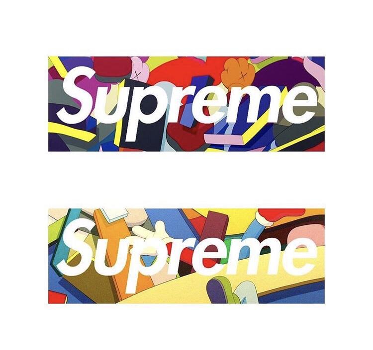【Supreme】19FWにてSupreme と KAWSのコラボとの噂!