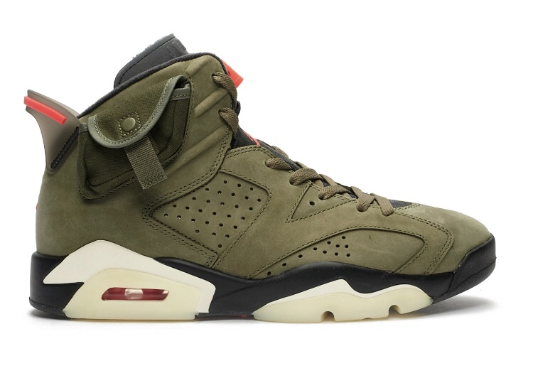 【NIKE】10月12日発売 NIKE / TRAVIS SCOTT AIR JORDAN 6 'OLIVE'