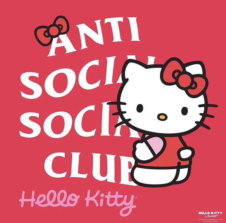 【ASSC】11月16日発売 ANTI SOCIAL SOCIAL CLUB × サンリオ